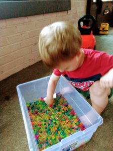 Nonverbal Toddler Sensory Play