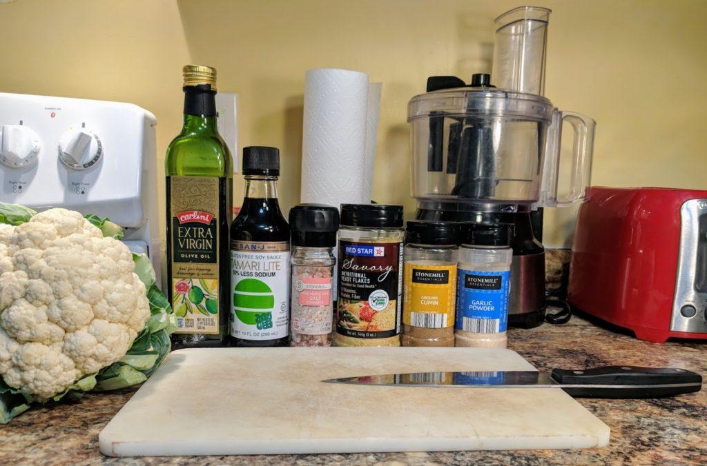 Cauliflower Steak Ingredients